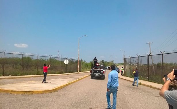Rotan a custodios de Altamira
