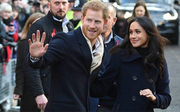 Príncipe Enrique y Meghan Markle realizan juntos su primer acto oficial