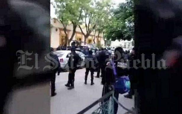 Riña entre policías y agentes de tránsito de Tehuacán deja cinco heridos