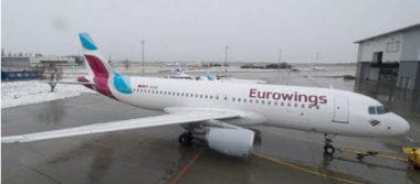 Avión alemán aterriza de emergencia por falsa amenaza de bomba