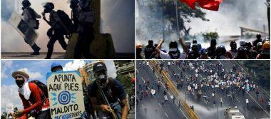 A favor y en contra de Maduro; chavismo y oposición marchan en Caracas