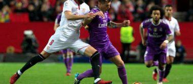 Sevilla acaba de último momento con el invicto del Real Madrid