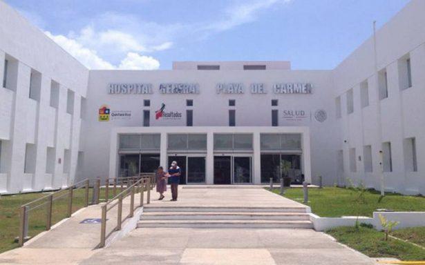 Se inunda Hospital General de Playa del Carmen