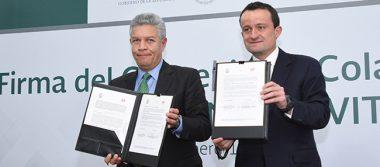 Tras firma de convenio, más de 430 mil trabajadores del IMSS beneficiados con Infonavit