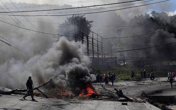 Máxima tensión en Honduras a horas de conocer a su nuevo presidente
