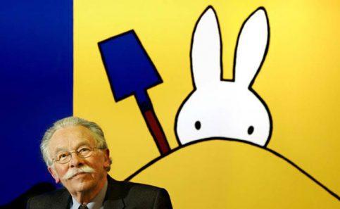 La conejita Miffy le dice adiós a su creador