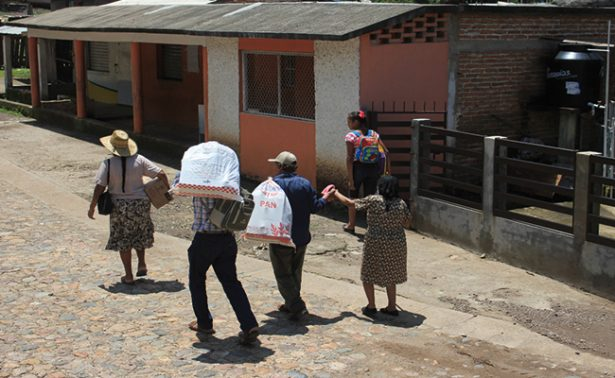 Regresan a sus casas los desplazados de Concordia
