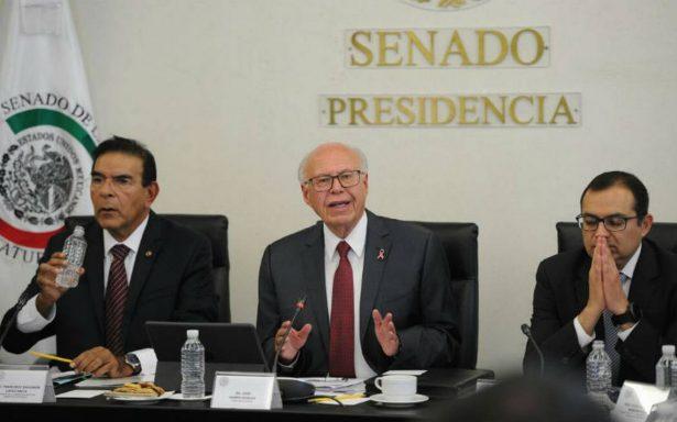 Narro destaca ante senadores labor del Sistema de Salud para evitar brote epidémico por sismo
