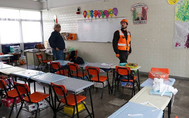 A más de dos semanas del sismo suman 15 mil escuelas afectadas
