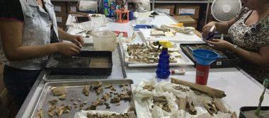 Analizan huesos prehispánicos hallados en Chiapas