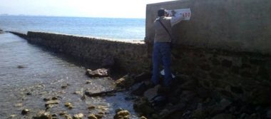 Clausuran construcción de espigones por impacto ambiental en Nayarit
