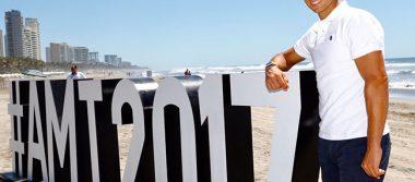 Las estrellas del Abierto Mexicano de Tenis disfrutado de Acapulco