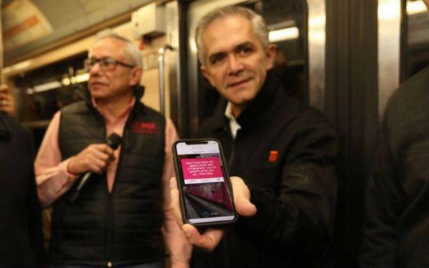 Línea 7 del Metro, la primera en la CDMX con servicio gratuito de Internet