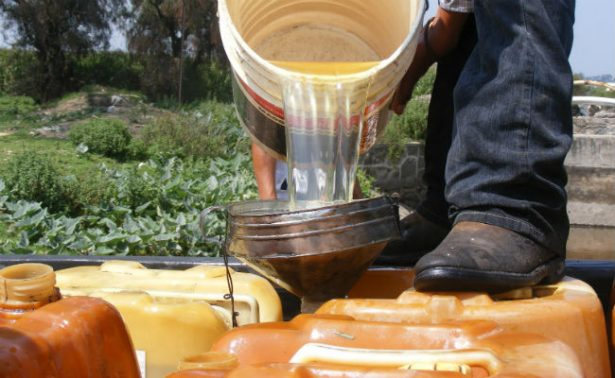 Precio de gasolina robada sube de 8 a 11 pesos por litro en últimas semanas