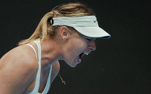Sharapova llora su derrota en el Abierto de China