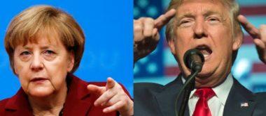 Confía Merkel en mantener colaboración estrecha con Trump