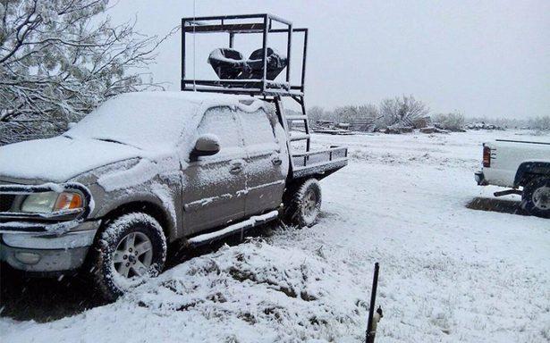 México tendrá nevadas y temperaturas bajo cero para esta Navidad