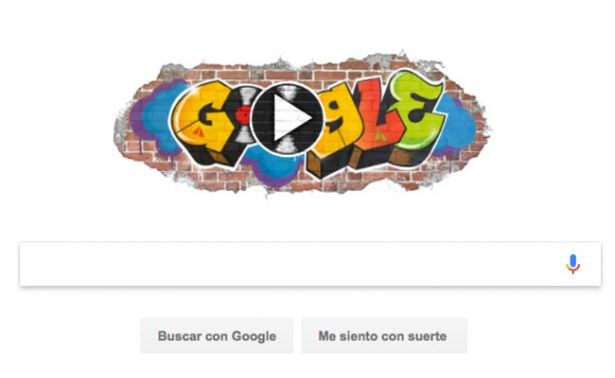 Doodle se pone de fiesta y recuerda el nacimiento del Hip Hop
