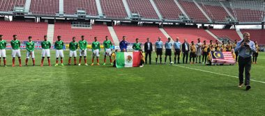 Tri sub 15 vence 1-0 a Malasia en Torneo de Gradisca