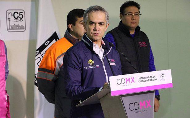 Mancera no se registrará como candidato independiente; 'mi prioridad es la ciudad'