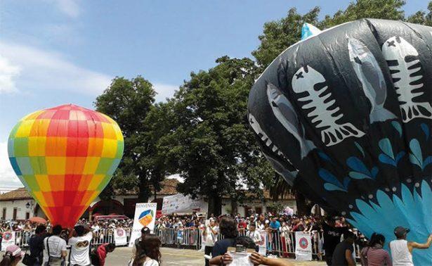 Cielo patzcuarense lucirá con globos de Cantolla