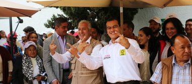 Petistas de 54 municipios del Edomex se suman a Zepeda
