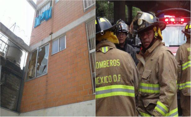 Muere bombero al caer de un tercer piso, iba a recuperar un cadáver de cinco días