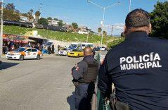 [Video]🎥 SSPM mantiene vigilancia en la garita para evitar conflicto entre transporte