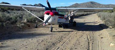 Ejército decomisa diversas drogas, una avioneta y un vehículo