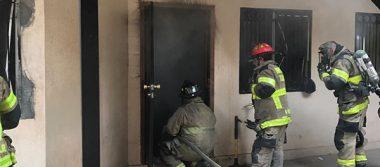 [FOTONOTA] Incendio en Ejido Francisco Villa  deja 1 muerto