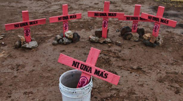 Focos rojos por más de 100 feminicidios