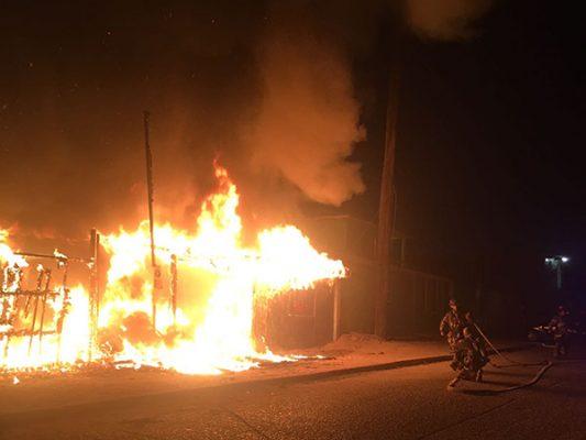 Perdió su casa en un incendio