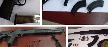 Incauta PEP cerca de 100 armas y miles de cartuchos en 2017
