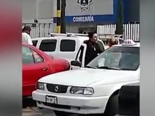 [VIDEO] Graban a policía agrediendo a mujer