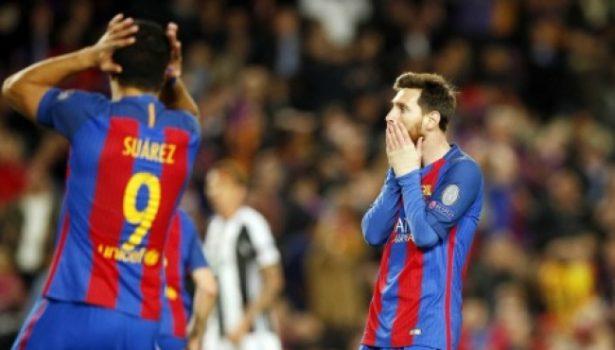 """Barcelona falla en lograr el milagro y empata 0-0 ante Juventus en """"Champions"""""""