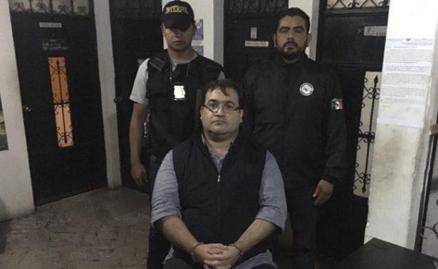 """[VIDEO]La condena de Javier Duarte comienza con un """"zape"""""""