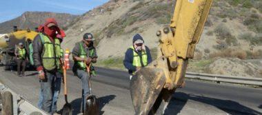 Posibles deslizamientos en carretera de Ensenada