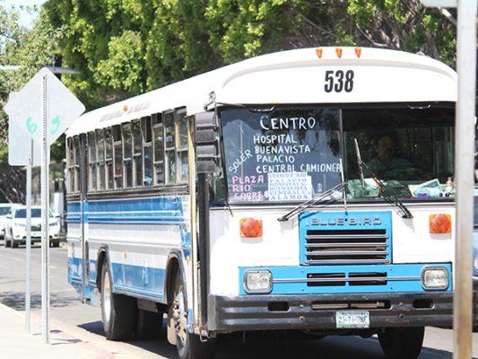 Retiran licencias a choferes de transporte público