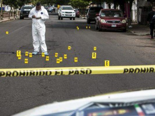 Matan a 10 en 24 horas; van 550 asesinatos