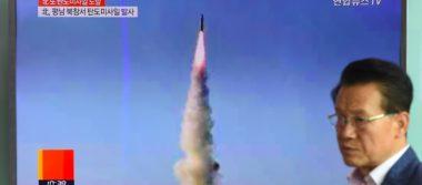 Corea del Norte desafía de nuevo a EU lanzando otro misil balístico