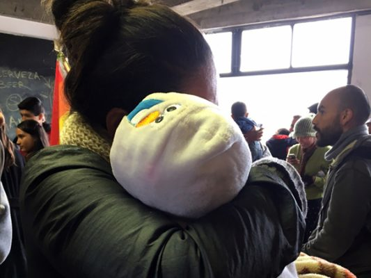 Migrante centroamericana dispuesta a no regresar a su país