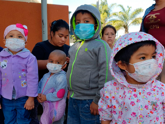 Niños sin tratamiento oncológico en HGT