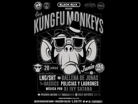 Kung Fu Monkeys festeja su 20 aniversario