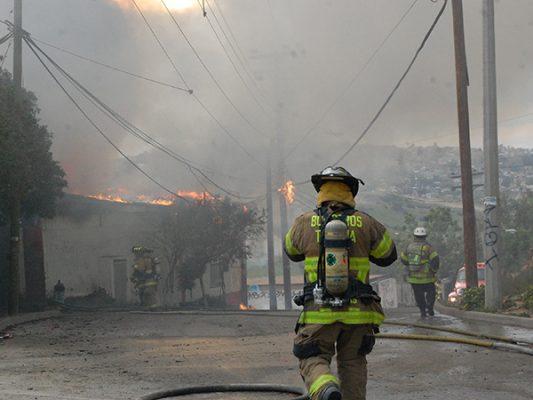80%, el déficit de bomberos