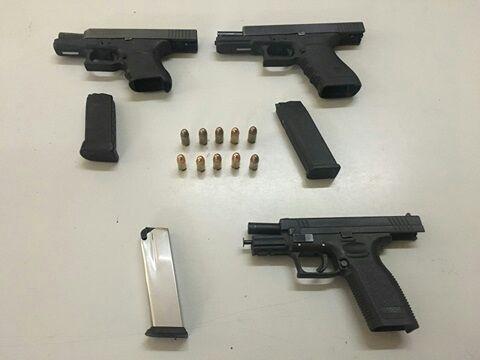 Transportaba armas de fuego en  vehículo; PEP lo asegura