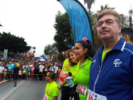 Realizan Circuito 'Primera Dama 5k' en Tijuana