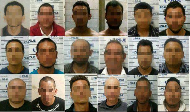Cumplimentan 20 órdenes de aprehensión en Tijuana