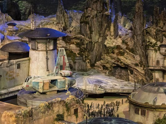 Disneyland, con nuevos parques de Star Wars