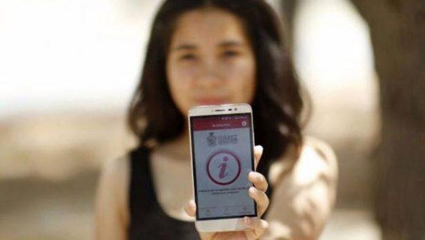 """Con solo agitar tu teléfono esta aplicación podría salvar tu vida, """"No estoy sola"""""""