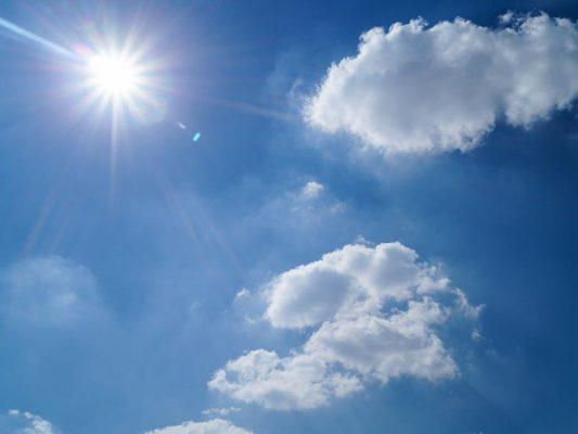 Prevén cielo parcialmente soleado; seguirá clima cálido 🌤️